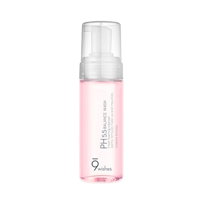 [9wishes] ph 5.5 Balance Face Wash  Exfoliating and Brightening Anti-Aging Cleanser. Fragrance Free No paraben/SLS or Phthalates
