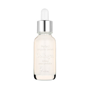 [9wishes] Ultimate Collagen Ampule Serum Highly Concentrated Hydrating  Moisture-Locking, Reduced Wrinkles