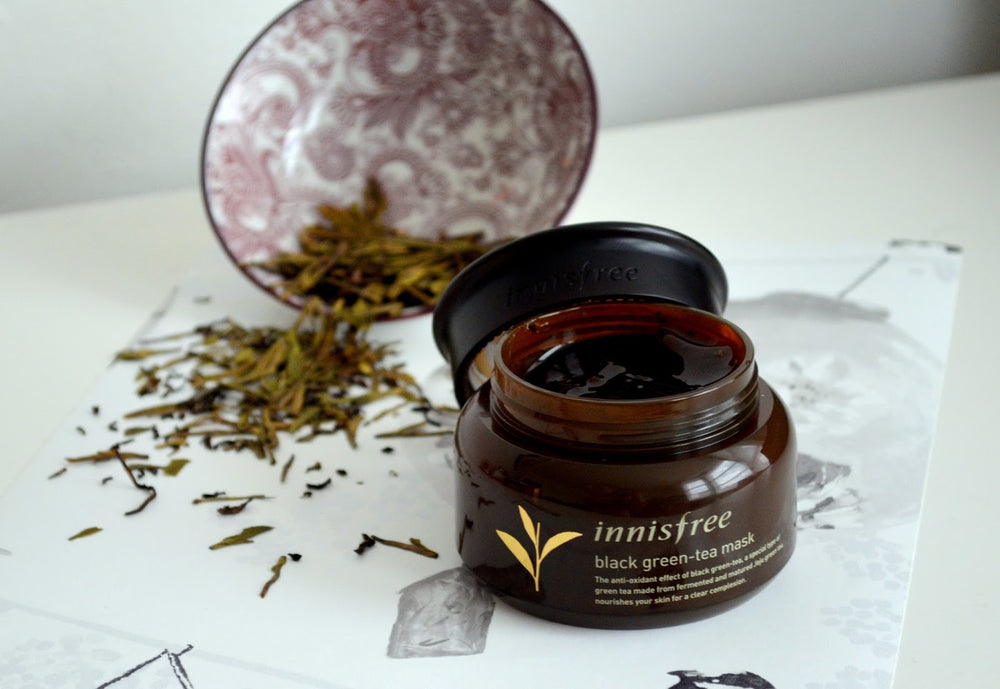Load image into Gallery viewer, [Innisfree] Black Tea Mask 80ml Anti-Oxidant Effect