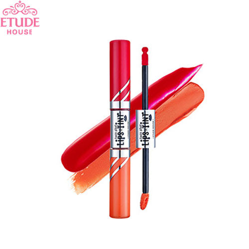 [Etude house] NEW Twin Shot x Lips Tint Brighten And Smoothen Twin-Color