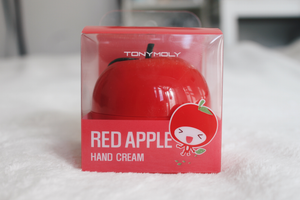 Load image into Gallery viewer, [Tonymoly] Red apple hand cream (Fruit) Invigorating Banish Dry Skin Nourish Cuticles Nails Intense Moisture