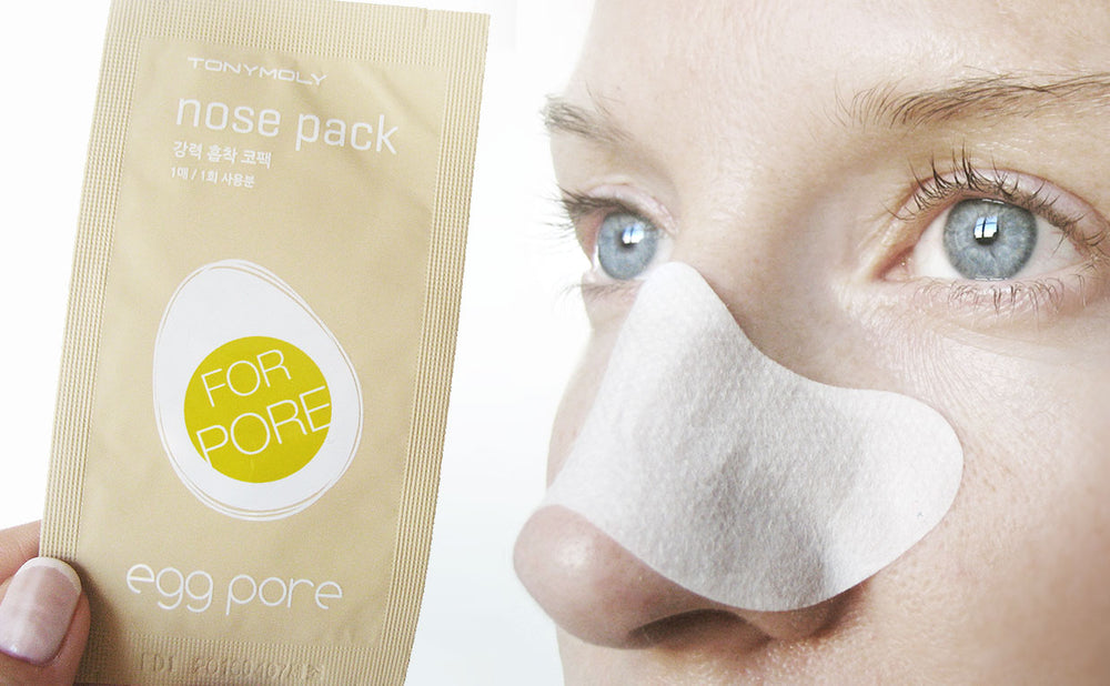 Load image into Gallery viewer, [Tonymoly] Egg Pore Nose Pack Strip for Pores Blackheads Red Spots