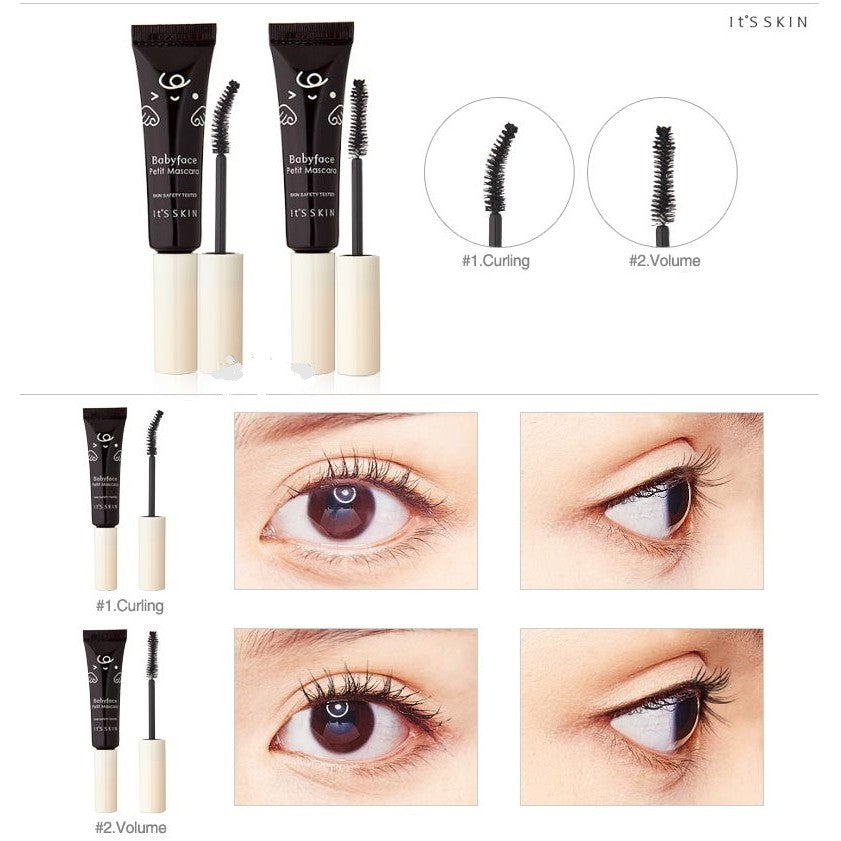 [It's Skin] Babyface Petit Mascara Gives  Nutrition To Your Eye Lashes