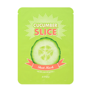 [A'PIEU] Cucumber Slice Mask Cactus Extracts Brightening Soothing Face Sheet