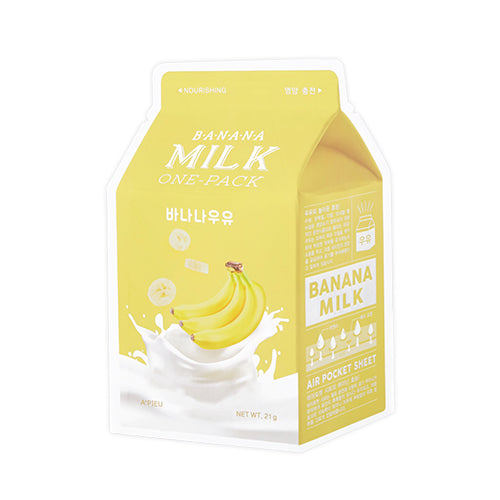 [A'PIEU] Milk One Pack Serum Soft Glowing Skin Hydrating Moisturizing Natural Skincare Nutrition Collagen