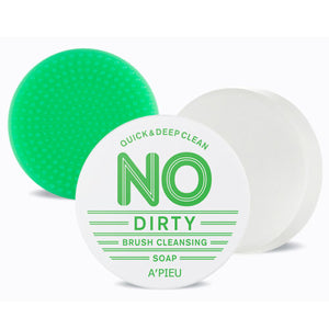 [A'PIEU] No Dirty Brush Cleansing Soap Gentle Soft Natural Cleaning No Residue