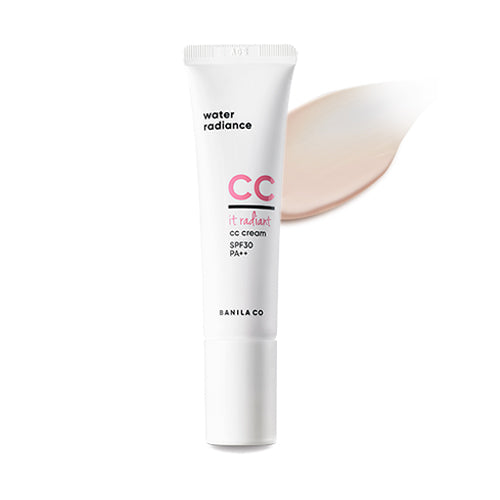 [Banila co] It Radiant CC Cream (Whitening Moisturizing Color Control Base) SPF 30 PA++ Hydrates Enriched Minerals UV Protection for All Skin Types