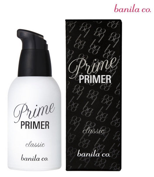 [Banila co] Prime Primer Classic 30ml Cover Uneven Skin Textures Satin Finish Smooth Canvas For Makeup