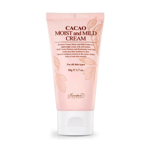 [Benton] Cacao Moist And Mild Cream Light Weight And Velvety Smooth Texture  Hyaluronic Acid
