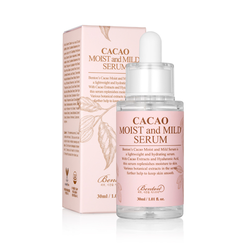 [Benton] Cacao Moist And Mild Serum 30ml Hydrating Nourishing Skin Protection Water-Oil Balance