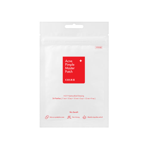 [COSRX] Acne Pimple Master 24 Patches (Or 3ea 24) Skin-Friendly