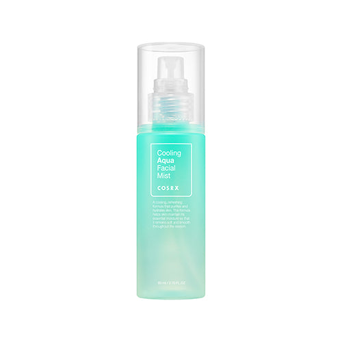 [COSRX] Cooling Aqua Facial Mist 80ml  Cools Down Heated Skin with Menthyl Lactate Haplocalix Extract