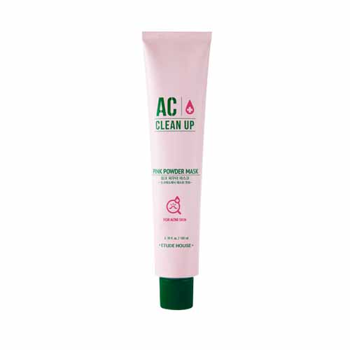 Load image into Gallery viewer, [Etude house] AC Clean Up Pink Powder Mask 100ml Relaxes Skin And Controls Water And Oil Balance