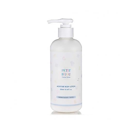 [Etude house] Petit Bijou Cotton Snow Moisture Body Lotion 300ml Formulated with Lavender, Aloe Vera, Chamomile