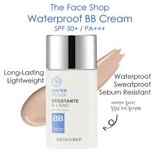 [The face shop] Waterproof BB cream V201(no.21) SPF50+ PA+++ 50ml