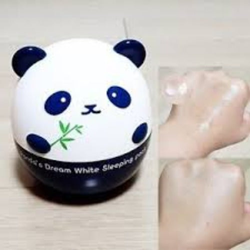 [Tonymoly] Panda's Dream White Sleeping Pack Whitening Mask with Texture Bamboo Extract Juice Stimulate Collagen Synthesis Strengthen  Blood Vessels