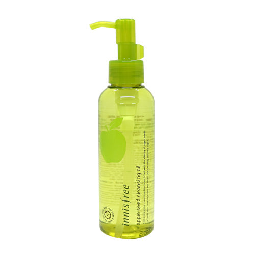 [Innisfree] Apple Seed Cleansing Oil 150ml Hydrating for Acne Skin Refreshing Apple Scent