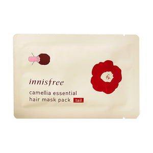 Load image into Gallery viewer, [Innisfree] Camellia Essential Hair Mask Pack (Repair) for Split Ends Hair Growth Volume
