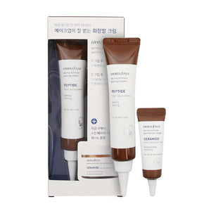 [Innisfree] Derma Formula Peeling Cream Launching Set Repair Moisturizer Skin Protection Soothing Wrinkle Improvement Brightening Paraben Fragrance Color Free