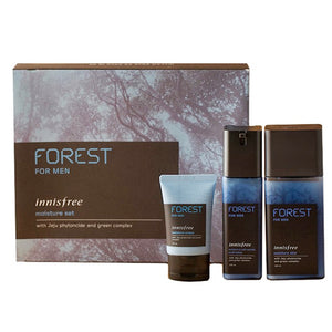 Load image into Gallery viewer, [Innisfree] Forest for men moisture set (Mosturizer skin 180ml+Moisturizer&Anti-Wrinkle Lotion 120ml)