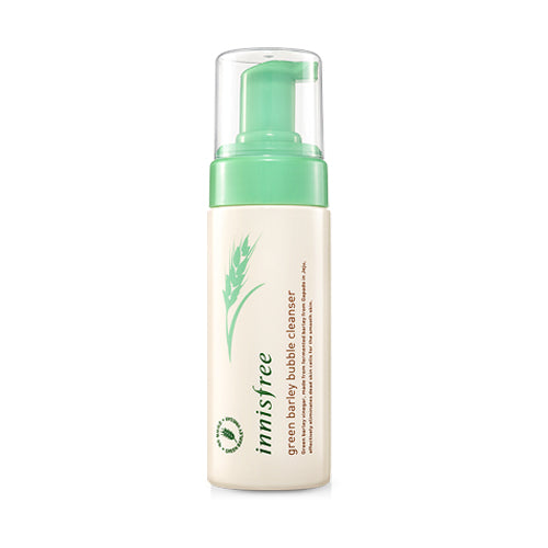 [Innisfree] Grean Barley Bubble Cleanser 150 ml Moisturizer