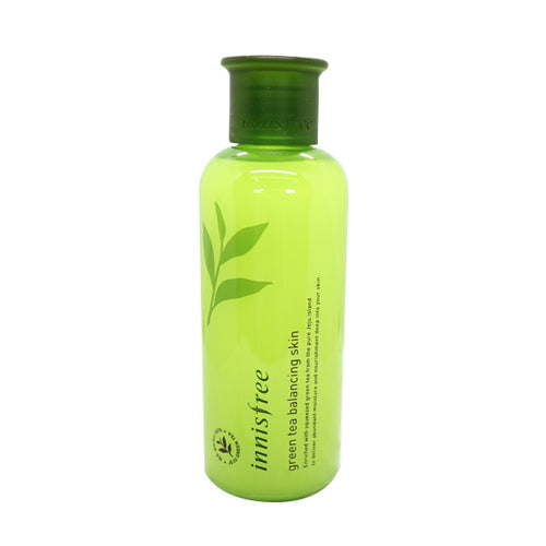 [Innisfree] Greentea Balancing Skin, 200ml Toner Nonstick Rich Amino Acid and Mineral Extracts Vegan Deeply Moisturizing