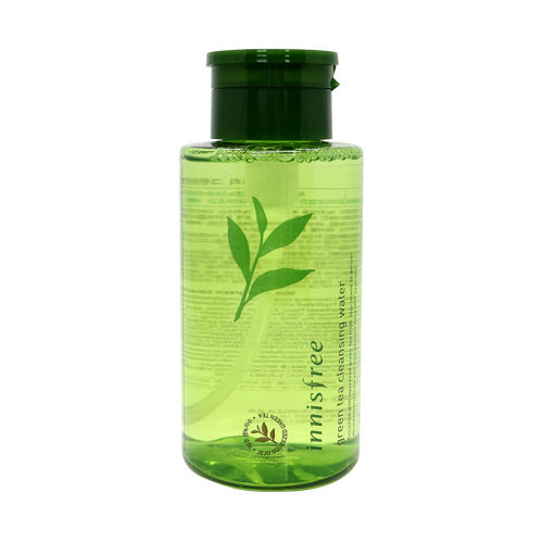 [Innisfree] Greentea Cleansing Water 300ml Natural Ingridients Makeup Remover Moisturizes with Antioxidants