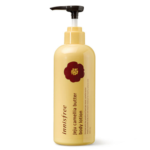 [Innisfree] Jeju Camellia Butter Body Lotion 300ml For Dry Skin Deep Hydration Moisture Strengthen the Natural Barrier