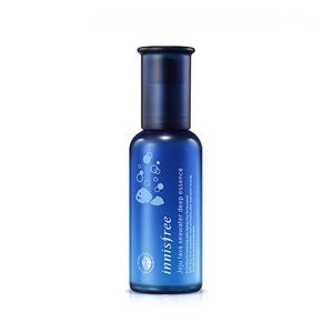 [Innisfree] Jeju Lava Seawater Deep Essence 50ml Highly Moisturizing Deep Hydration Firming Care Rich Nutrients