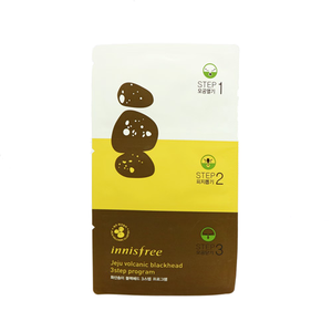 Load image into Gallery viewer, [Innisfree] Jeju Volcanic Blackhead 3 Step Sheet Deeply Rooted In The Pores