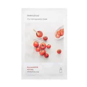 [Innisfree] My Real Squeez Mask Sheet 18pcs Different Ingredients