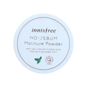 [Innisfree] No Sebum Moisture Powder 5g Mineral to Skin