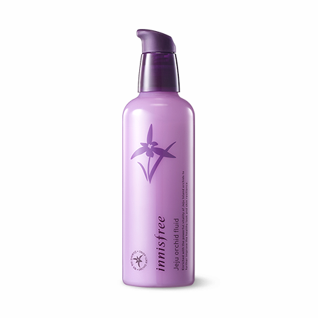 [Innisfree] Jeju Orchid Fluid 100ml Skin Lotion Soothing Toner Brighten the Look