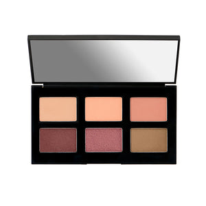 [It's Skin] Life Color Palette Eye #02 Laura Silky-Soft Six-Color Eye Shadow