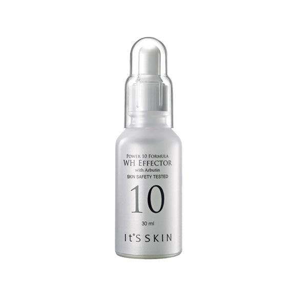[It's Skin] Power 10 Formula WH Effector with Arbutin 30ml Serum Cell Regeneration & Revitalizing, Skin Smooth, Troubles Soothing Ultra Hydrating