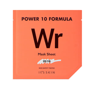 [It's Skin] Power 10 Formula WR Sheet Mask Soothing Refreshing Hydrating Moisturizing Adenosine Caviar Viscum Album Extract