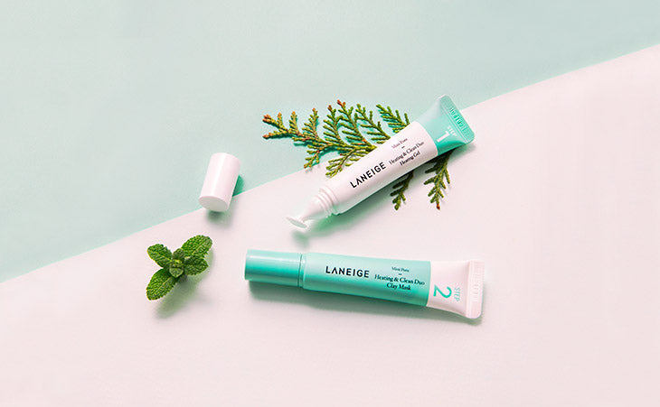 [LANEIGE] Mini Pore Heating & Clean Duo 15ml Skin-Friendly Controls Sebums, Soothes Tired Skin