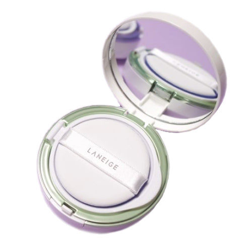[Laneige] Skin Veil Base Cushion No.60 (Light Green) SPF22 PA++Flawless And Bright
