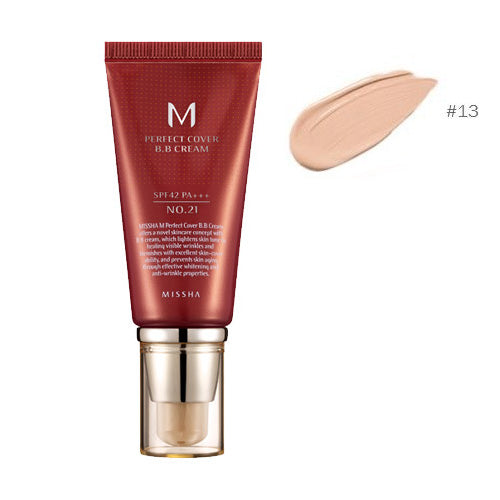 [Missha] M Pefect Covering BB Cream SPF42 PA+++ Blemish Coverage And Power Long Lasting The Best Seller In Global  50ml
