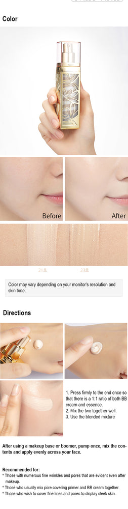 [Missha] Signature Wrinkle Filler BB Cream SPF37 PA++ #21 44ml Leave Enlarged Pores Exposed