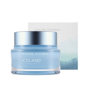 [Nature Republic] Iceland Brightening Watery Cream Double Moist