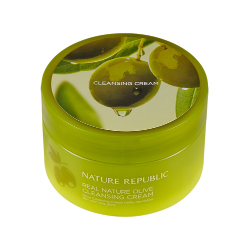 [Nature Republic] Real Nature Cleanser Cream #Olive
