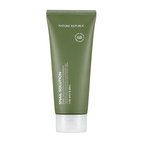 [Nature Republic] Snail Solution Foam Cleanser 150 ml