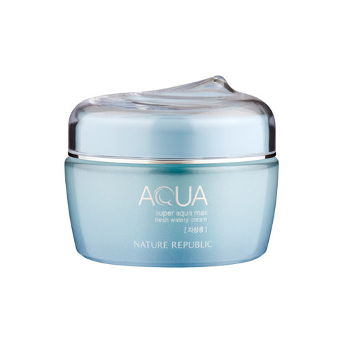 Load image into Gallery viewer, [Nature Republic] Super Aqua Max Fresh Watery Cream (for oily skin)