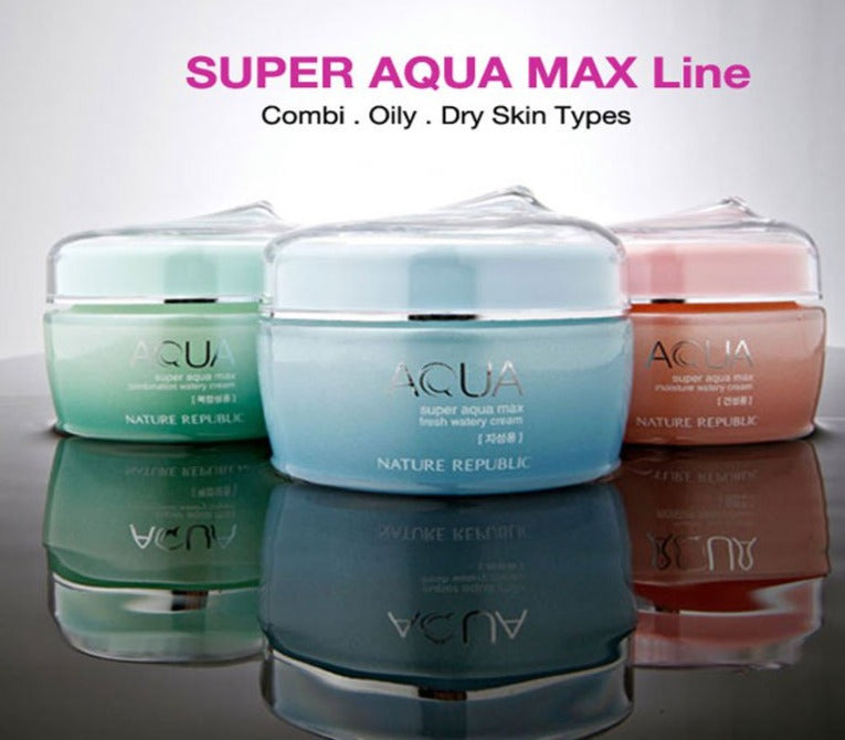 [Nature Republic] Super Aqua Max Fresh Watery Cream For Oily Skin