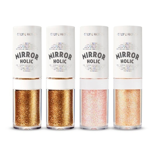 [Etude house] Mirror Holic Liquid Eyes Long Lasting Shimmer Eyeshadow Sequins For Shiny And Sparkling Eyes Makeup