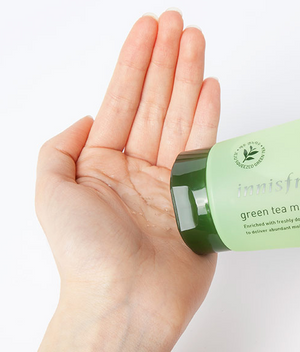 [Innisfree] Green Tea Morning Cleanser 150ml Non-Foaming Daily Gentle Face Wash For All Types Of Skin