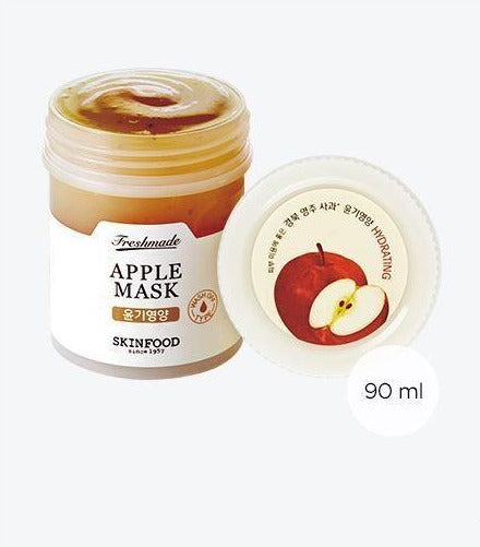 Load image into Gallery viewer, [Skinfood] Freshmade Apple mask 90ml Fresh Ingredient Skin-Friendly