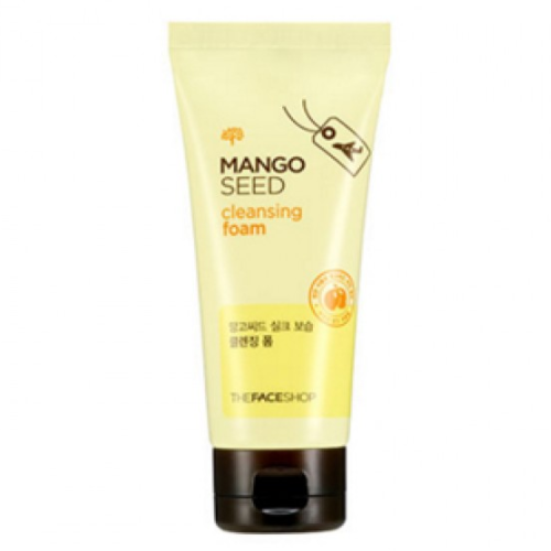 [The Face Shop] Mango Seed Silk Moisture Cleansing Foam Removes Sebum and Dead Skin Cells for Acne-Prone Skin