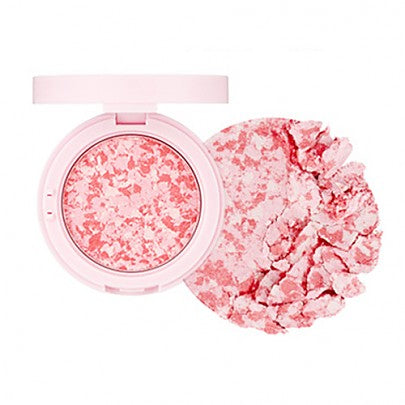 [The face shop] Marble Beam Blush & Highlighter Transparent And Clear Shine